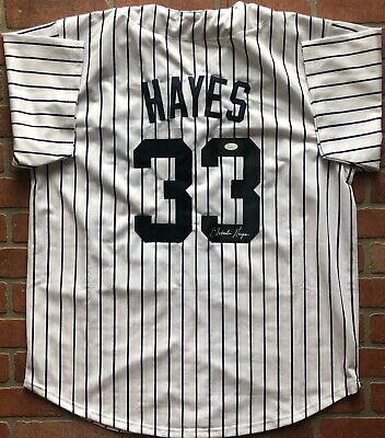 dc7d8027 Charlie Hayes autographed signed jersey MLB New York Yankees JSA w/ COA