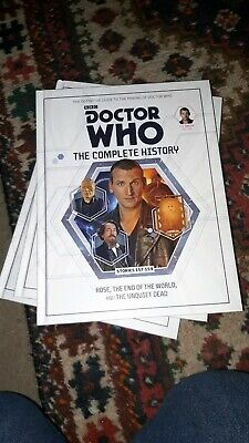 Doctor Who Complete History Volume 48 - Christopher Eccleston Ninth - Hardcover