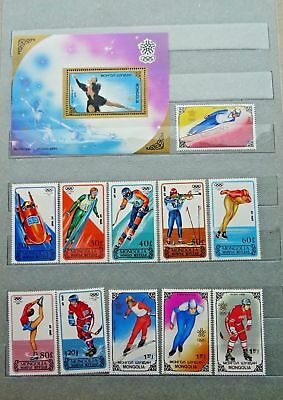 Olympic Games, Various Sports, Various Coutries MNH (4 lots), Various Years