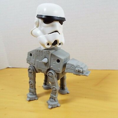 McDonald's Star Wars Toy At-At with Storm Trooper Bobblehead