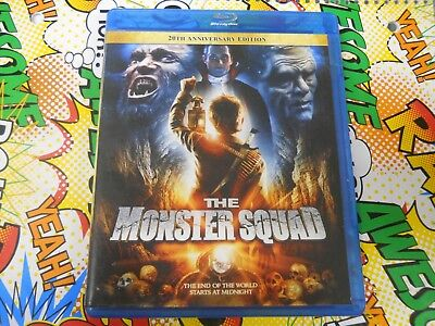 The Monster Squad 1987 Like New 20th Anniversary Edition Blu-ray RARE O.O.P.
