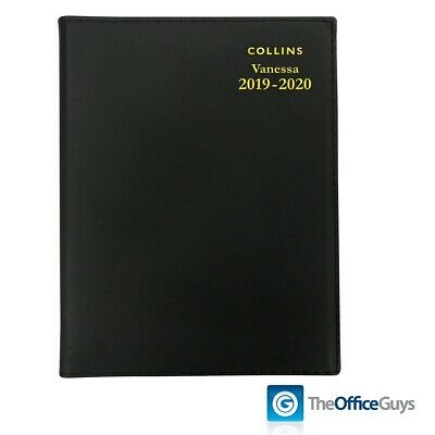 Collins Vanessa A4 Day/Page Financial Year Diary 2019-2020 (FY145.V99-1920)