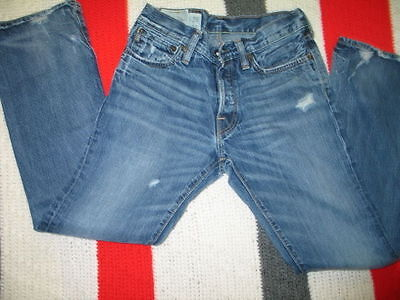Abercrombie & Fitch Lot Of 2 Jeans Men Baxter Low Rise Slim Boot 28X30