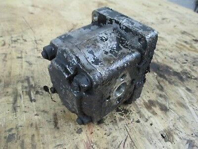 White 2-60 Tractor Power Steering & Hydraulic Pump 670668AS 30-3012875 2 Pumps