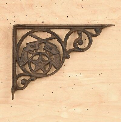 CAST IRON- Gun Brace / Shelf Bracket Set Of 2