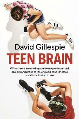 Teen Brain by David Gillespie [Paperback]