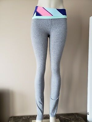 7bb9485a8dfd3 LULULEMON IVIVVA GIRL'S Dream Warrior Pant HSL/SLTE Heathered Slate ...