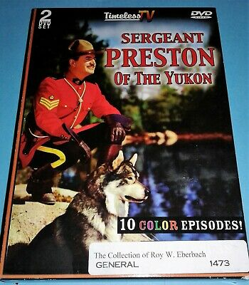 Sergeant Preston of the Yukon (Mint Condition 2-DVD Set) + With Free Shipping