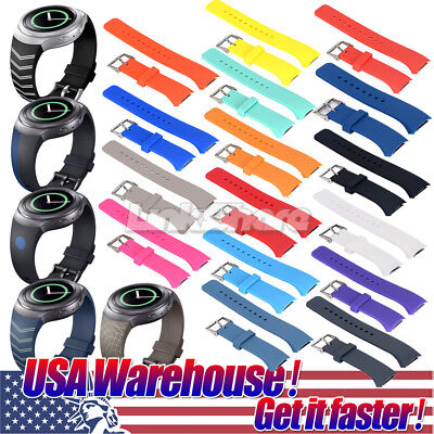 Sport Silicone Replacement Watch Band Wrist Strap For Samsung Gear S2 R720/R730