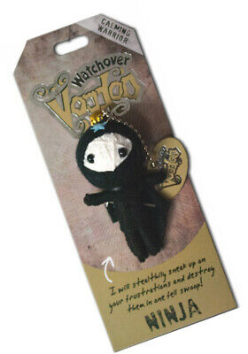 Black Authentic Voodoo Doll Witchcraft Spell Casting Juju Vudu Magic Toys Witch