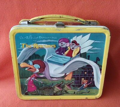 Caja de Latón Latón Box Disney The Rescuers + Thermo Bottle Aladdin