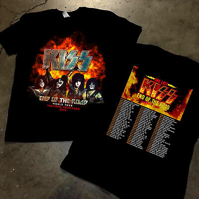 RARE-KISS-2019-End-of-the-Road-World Tour concert Männer Frau T-Shirt t6