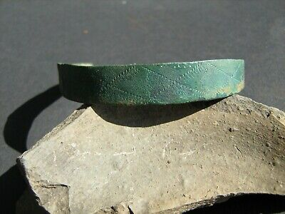 Ancient Vikings bronze bracelet 10-13 centuries.ancient decoration