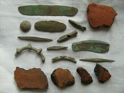 Ancient Bronze Age Objects 7TH - 3RD Centuries BC
