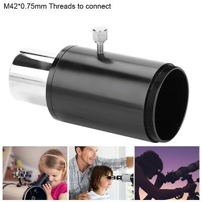 """Camera Adapter 1.25"""" T-Mount Telescope Extension Tube M42*0.75mm for Canon DSLR"""