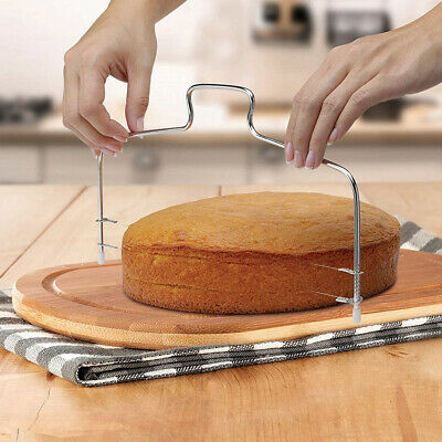 Adjustable Wire Cake Slicer Cutter Leveller Decorating Bread Wire Decor Tools Kitchen, Dining & Bar