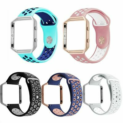 IGK Replacement Bracelet Smart Watch Band Silicone Sports Strap For Fitbit Blaze