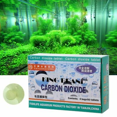 Aquarium CO2 Tablet Carbon Dioxide For Plants Fish Tank Aquatic Diffuser Grass