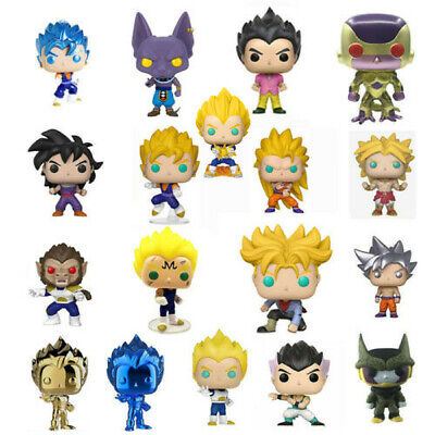Funko Pop Dragon Ball Z Super Saiyan Broly SSGSS Great APE Vegeta Frieza Figure