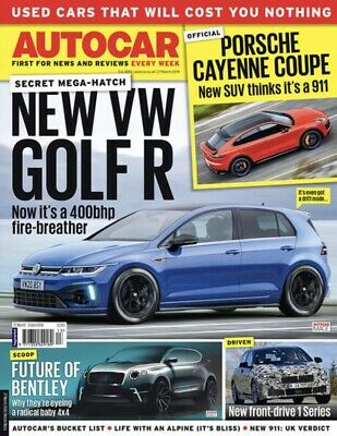 AUTOCAR MAGAZINE 27 March 2019 (BRAND NEW ISSUE)