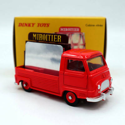 Atlas Dinky Toys 564 Miroitier Estafette Renault Cabine Vitree 1/43 Diecast Red