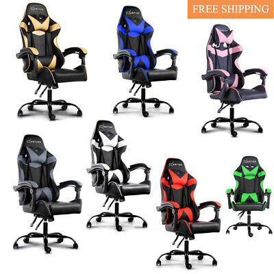 Artiss Gaming Office Chairs Computer Seating Racing Recliner Racer Swivel Lift