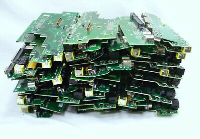 Computer Boards Scrap Gold recovery 7.2lbs pins precious metals component box H