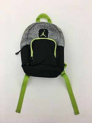 2318c7d8a09324 NIKE JORDAN JUMPMAN MINI Backpack Black Green Small BACKPACK Bag ...