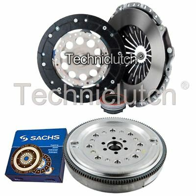 Ecoclutch 3 Part Clutch Kit And Sachs Dmf For Audi A4 Saloon 1.8 T
