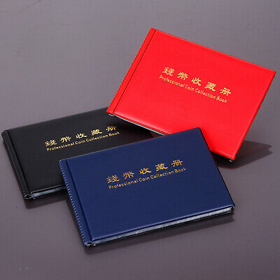 New 240 Coins Collection Storage Penny Pockets Money Album Book Coin Holders