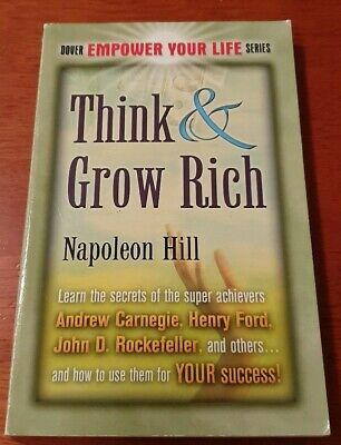 Think and Grow Rich by Napoleon Hill - very good condition