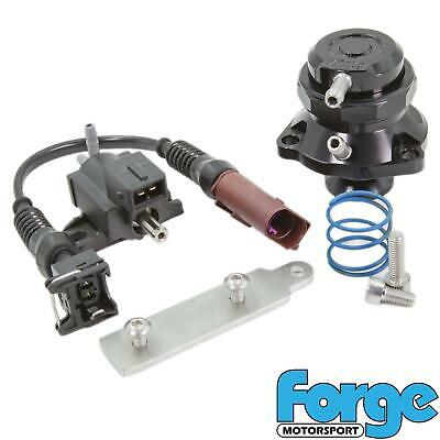 Black - Forge Recirc Diverter Valve for Golf mk7 GTI R 2.0 TSI IHI IS20 IS38 MQB