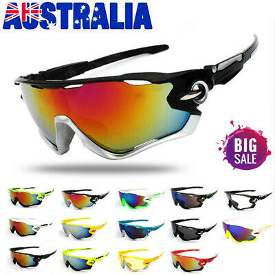 UV400 Cycling Sunglasses Bicycle Outdoor Sports Bike Unisex Glasses Men Eyewear