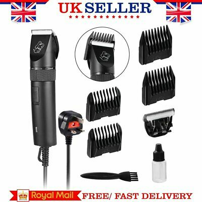 Pet Shave Clipper Hair Low Noise Cordless Electric Dog Cat Grooming Trimming NN