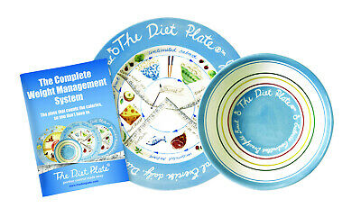 The Diet Plate and Bowl, Male Version for Dbt Control and Weight Loss