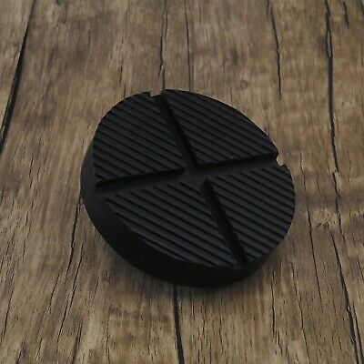 Classic Car Rubber Pad Jack Hydraulic Ramp Jacking Adapter Tool Trolley