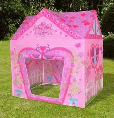 Children Kids Play Tent Indoor Outdoor Baby Girls Fairy Playhouse - Pink House