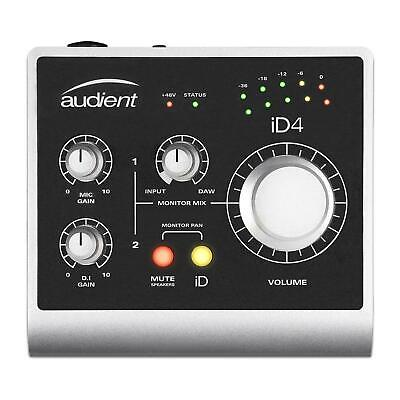 Audient ID4 2-in/2-out USB Audio Interface w/ Cubase LE - ID-4