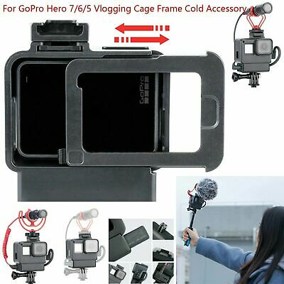 Ulanzi V2 Protective Housing Case Cover For GoPro Hero 7 6 5 Vlogging Cage Frame