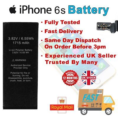 Replacement Internal Battery Part ForApple iPhone 6s UK Stock