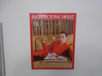 Architectural Digest Magazine - Hollywood at Home - Audrey Hepburn (March 2006)