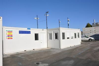 New Modular Building - Portable Building - 4 Bay Office - reception kitchen & wc