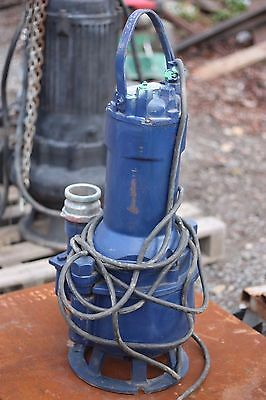 Scanpump Submersible Pump 3.2 Hp 3 Phase Nice