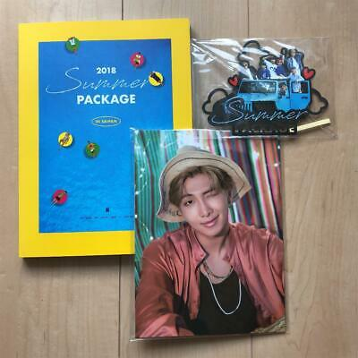 BTS SUMMER PACKAGE VOL.4 2018 Photo Book Mini Poster All Members FC Limited F/S