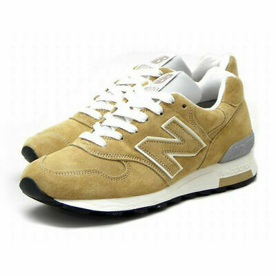New Balance M1400BE Classic Running Sneakers Beige/White Made in USA Men's Sz 12