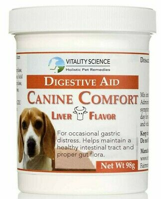 Vitality Science Canine Comfort - For Dog Vomiting & Diarrhea - Additive Free