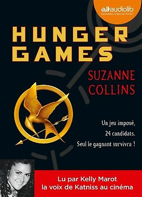 Hunger Games - Suzanne Collins | Livre audio (neuf)