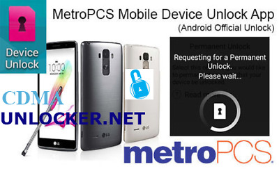 METROPCS DEVICE UNLOCK APP HTC MOTO LG KYOCERA ALCATEL ZTE Coolpad 180D ACTIVATE