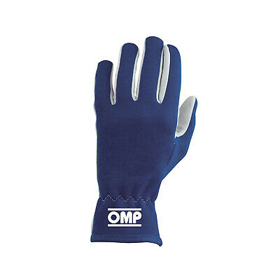 OMP NEW RALLY Blue Racing Gloves - Genuine - XL