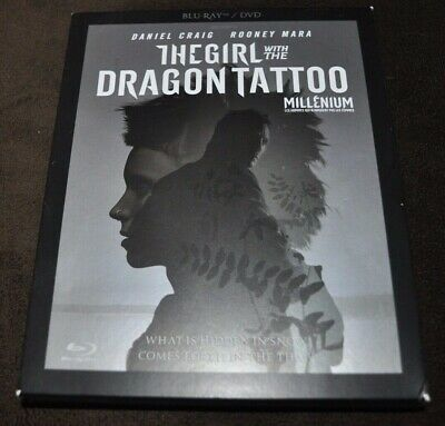 The Girl With the Dragon Tattoo 2 Blu-ray + DVD box set, Region A, English Audio